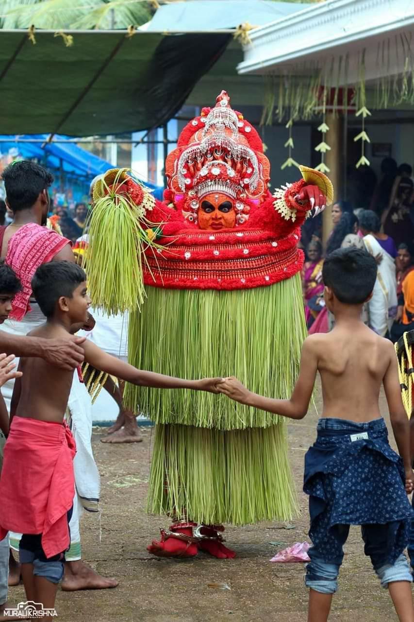 Vishnumoorthi Theyyam- വിഷ്ണുമൂർത്തി തെയ്യം