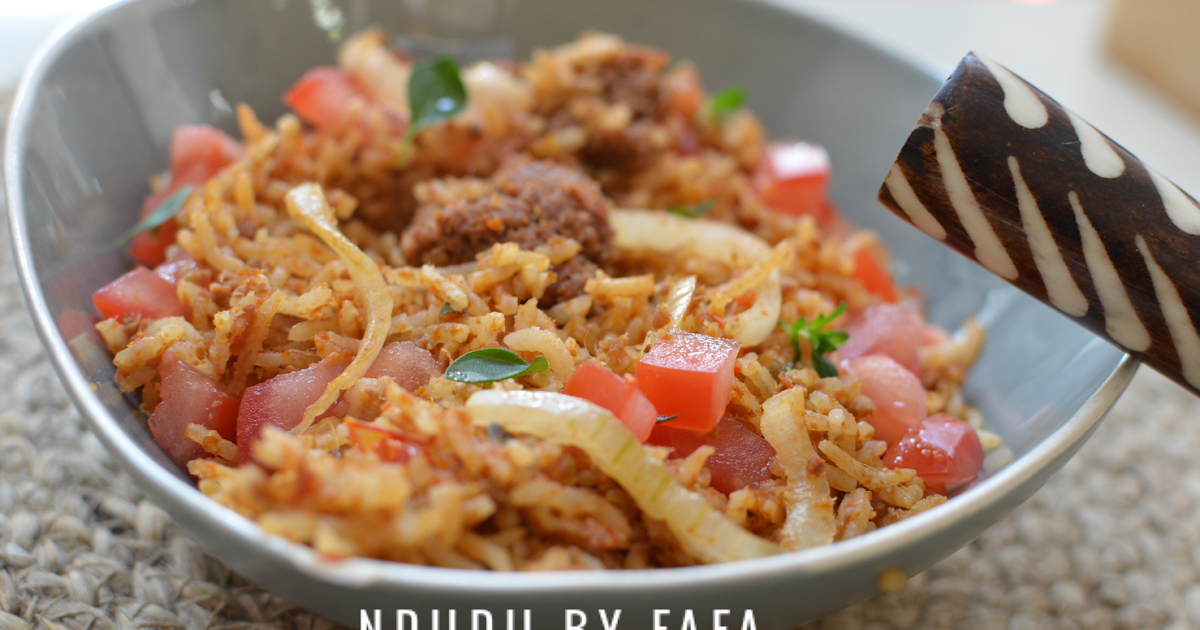 Ndudu by fafa corned beef jollof rice recipe forumfinder Image collections