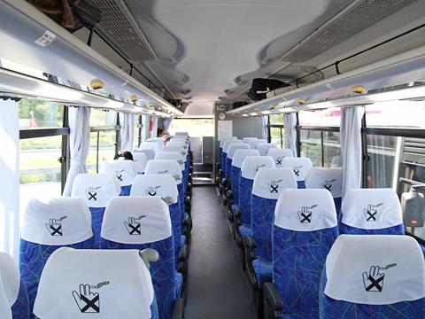 沿岸バス「特急はぼろ号」 ・389 車内 豊富行き