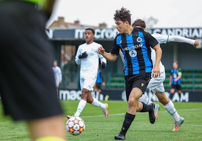 🎥 Le superbe but de Kyriani Sabbe avec Bruges en Youth League