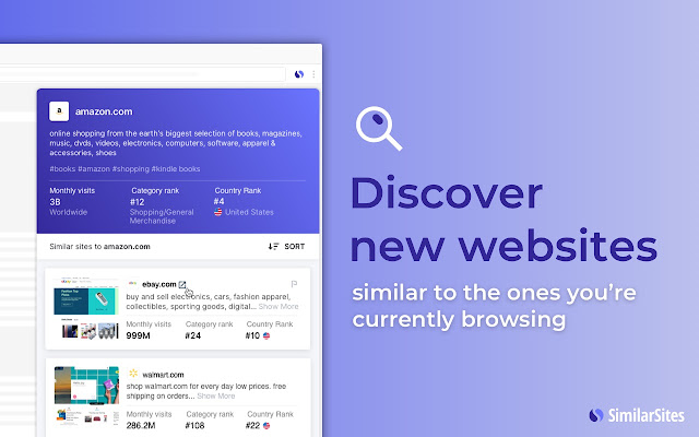 Similar Sites - Discover Related Websites