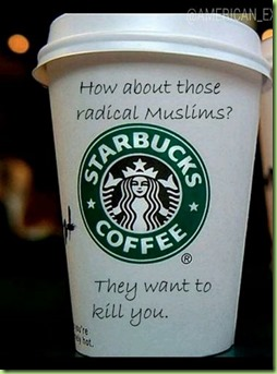 starbucks how about those muslims