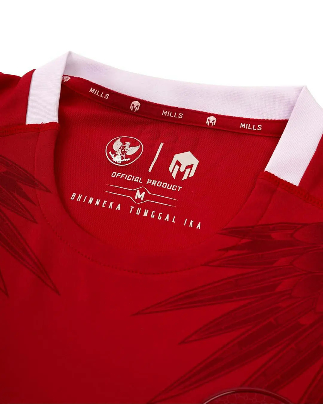 Jersey timnas Indonesia 2020 x mills