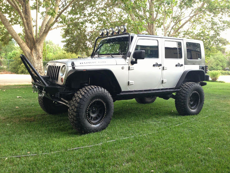 find used 2007 jeep wrangler rubicon unlimited 4x4 jk 4 door lifted rock crawler lockers in. Black Bedroom Furniture Sets. Home Design Ideas