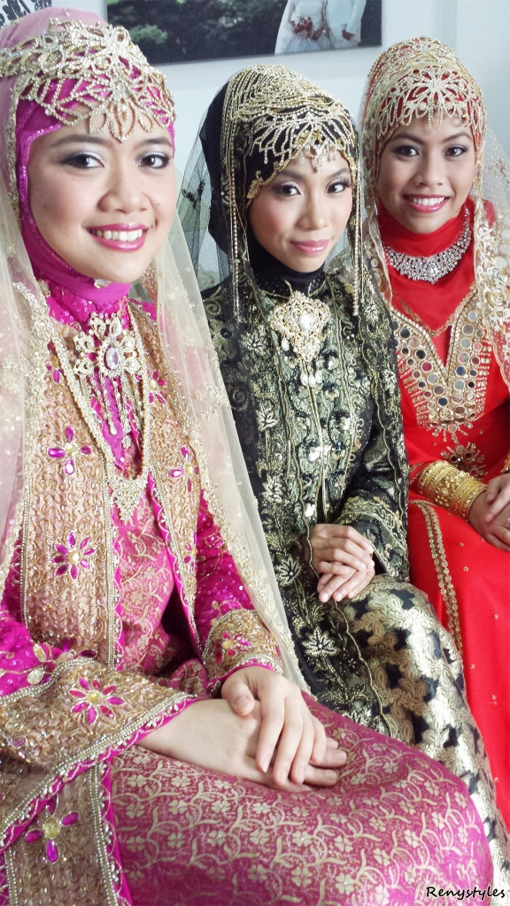 Fashionable Islamic Bridal Hijab Styles 2017 Reny Styles