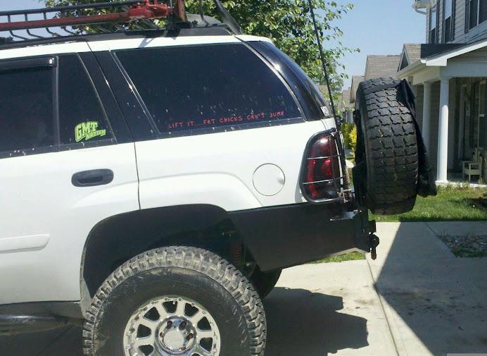 "offroadTB.com • View topic - 3"" Body Lift Trailblazer Rear Bumper"