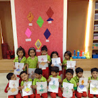 Introduction to shape Diamond in Nursery (2014-15) at Witty World