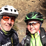 Bike - Mit Patenkind Josef am Monte Sole (bikehotels trailbiker)