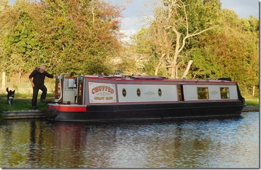 12 moored at hawford top lock