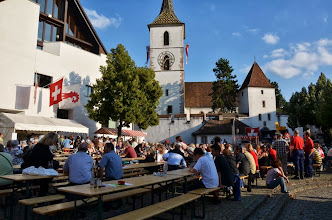 Photo: Gemindeplatz in  Muttenz