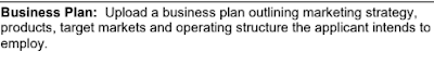 NMLS Requirement for a Business Plan which is quite vague