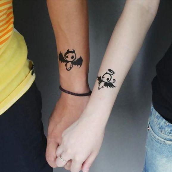 anjo_diabo_casal_braço_tatuagens