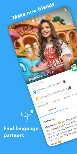 InterPals - Friends and Language Exchange 1.0.5 screenshots 1