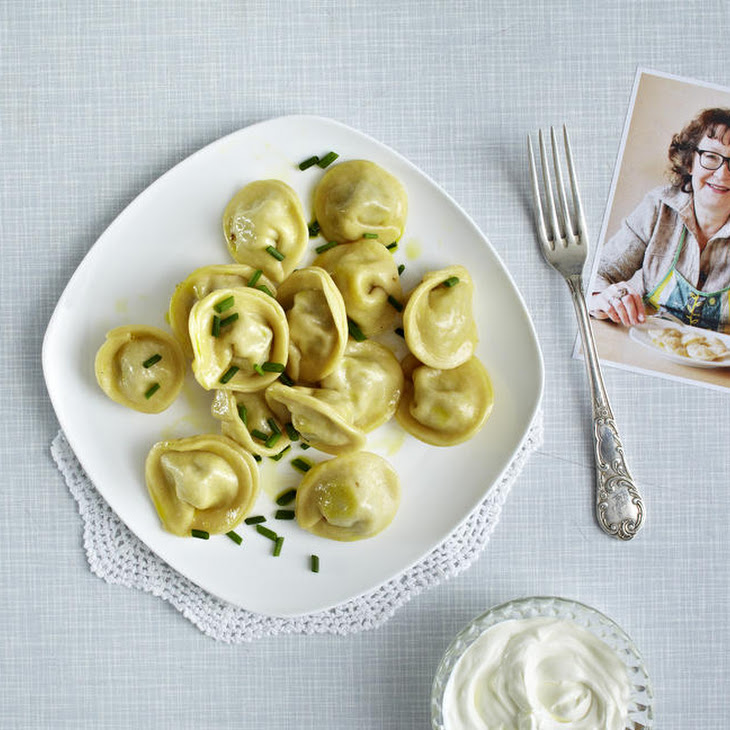 Russian Pelmeni Dumplings with Ground Beef and Onions