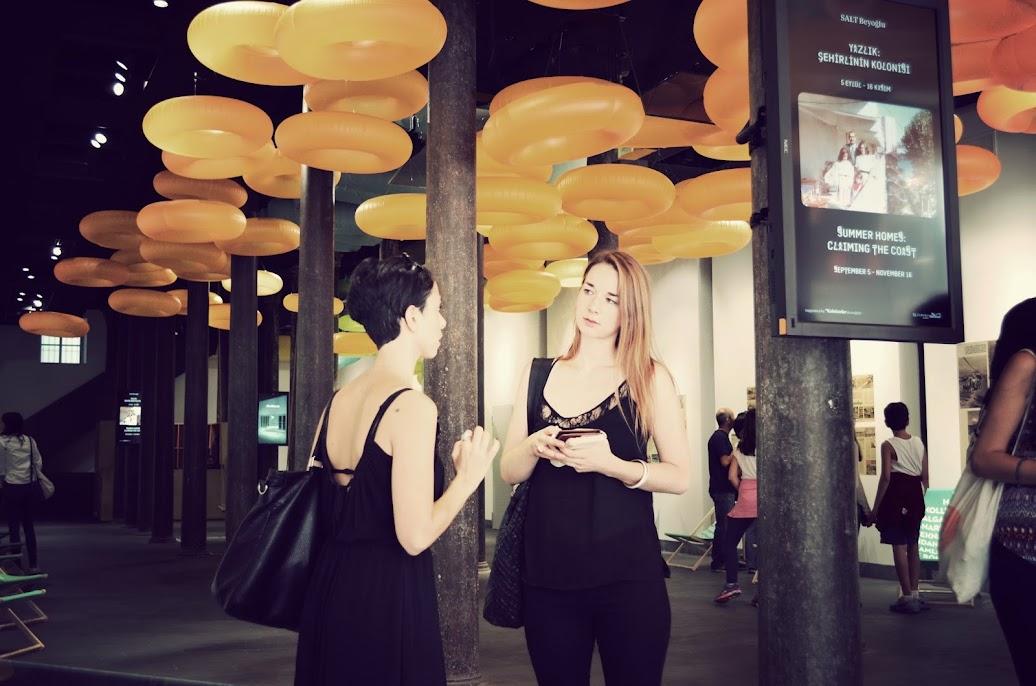 arter gallery art walk with istanbulite team seza bali