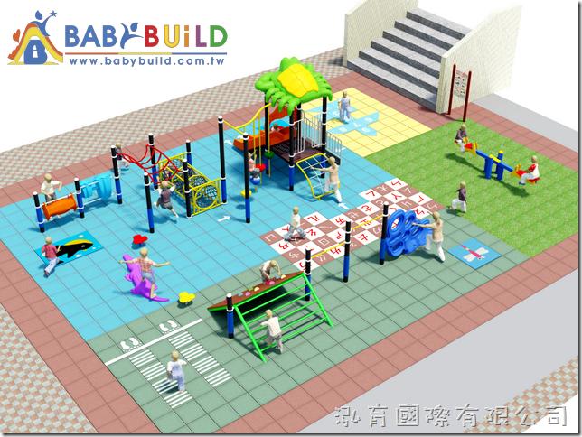 BabyBuild 兒童遊戲場設計規劃