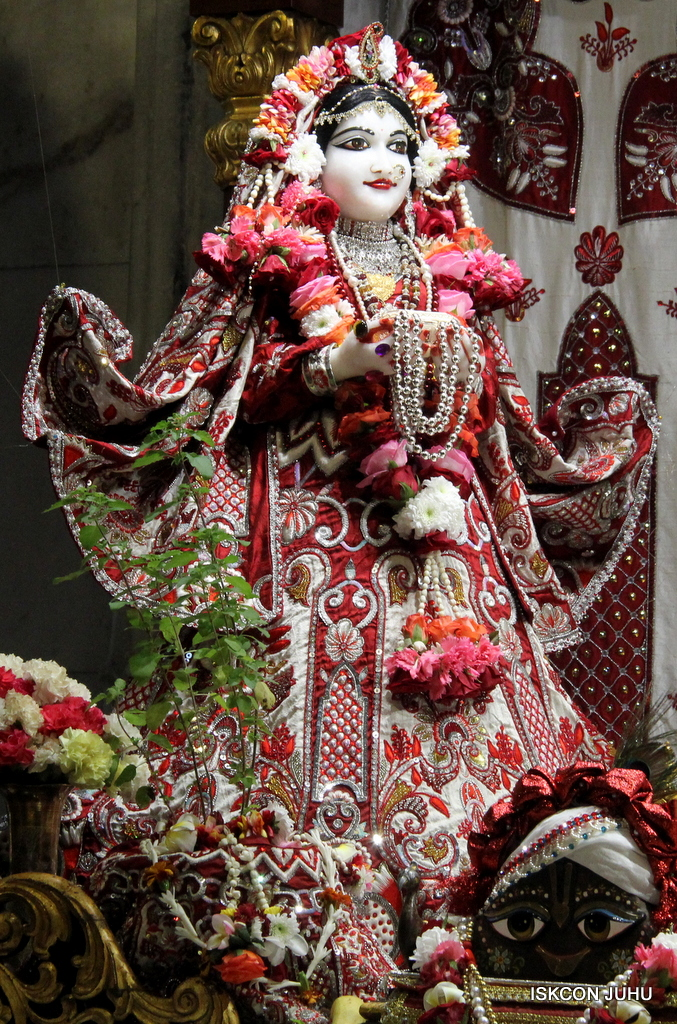 ISKCON Juhu Sringar Deity Darshan on 30th Sep 2016 (25)