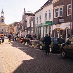 Hemelvaartsdag druk in Steenbergen