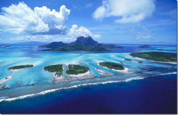 Aerial view of Galapagos 2