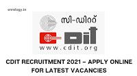 CDIT Recruitment 2021 - Apply Online for 18 Programmer, Test Engineer, Technical Writer, Server Administrator Posts