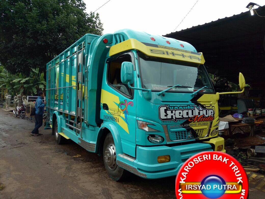 Bak Truk Full Variasi Pesanan Sinar Asih Group Cianjur