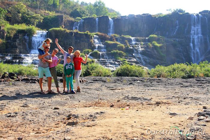 Понгур водопад, Далат