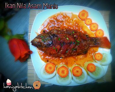ikan nila asam manis