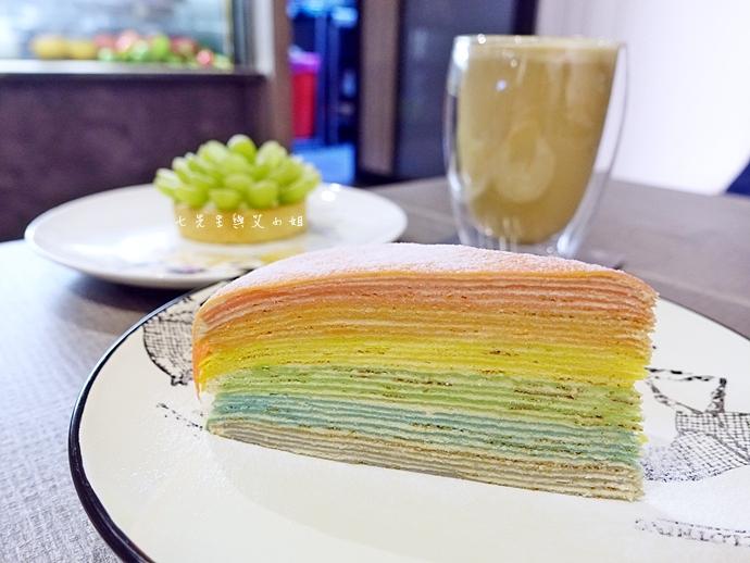29 翻轉 Flip 彩虹千層蛋糕 水果塔 貓咪棉花糖咖啡