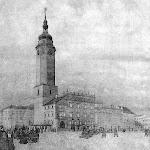 A-01-На площади Рінок. Рис. В.Долинского 1924 г..jpg