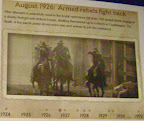1926: Armed rebels fight back