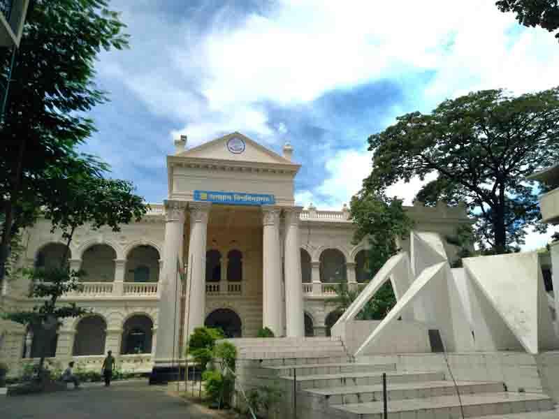 করোনায় নিশ্চুপ জগন্নাথ বিশ্ববিদ্যালয় ক্যাম্পাস