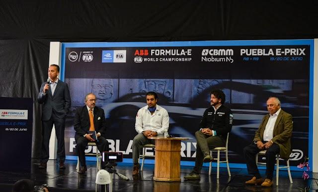 Regresa la Fórmula E a México con el Eprix de Puebla