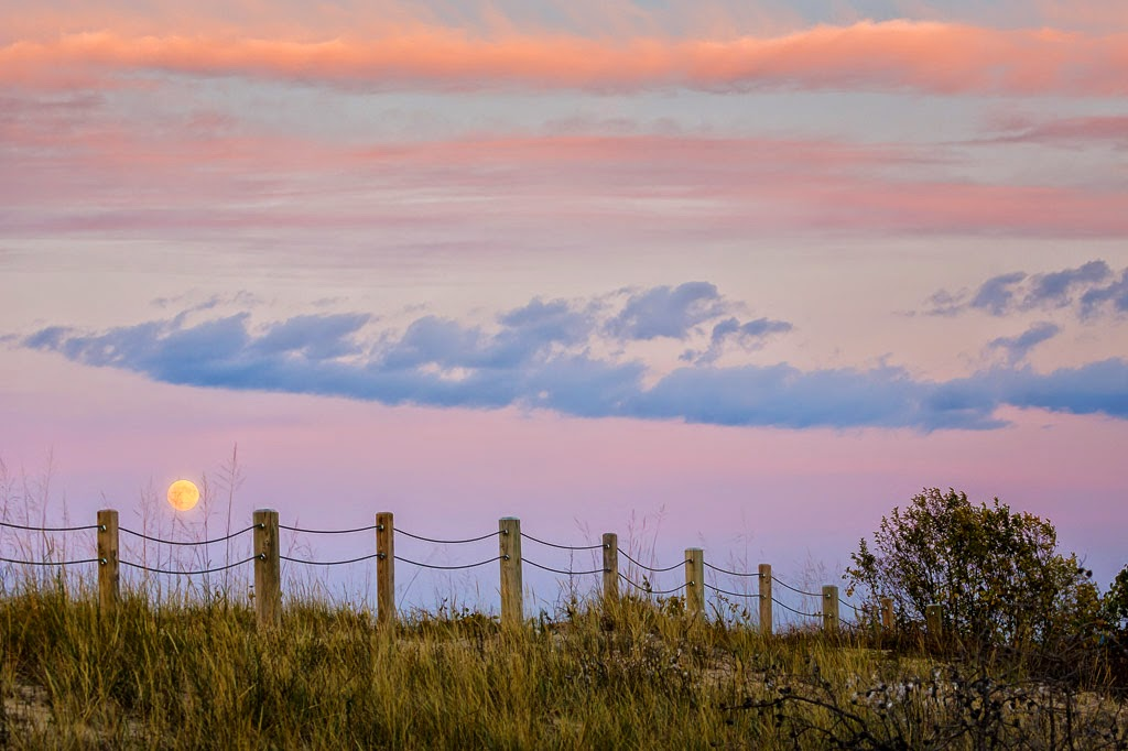 """Glen Haven Moonrise"" by Roy Kropp -- 1st Place Print"