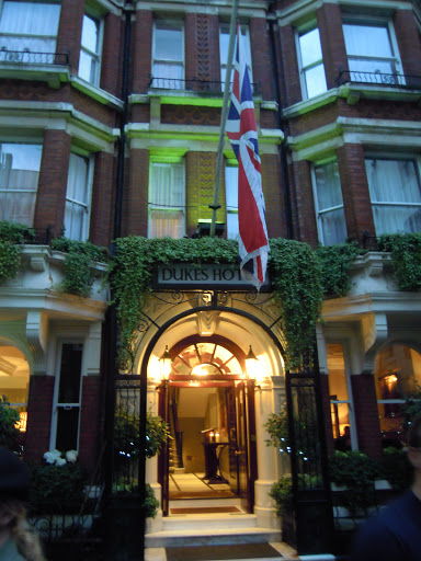 Duke Hotel - from the James Bond walking tour - one of the best walking tours in London