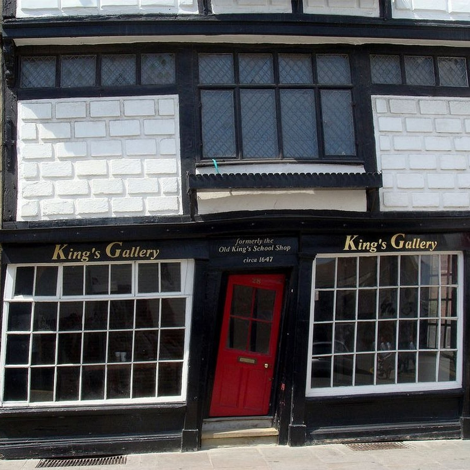 The Crooked House of Canterbury, Kent, England
