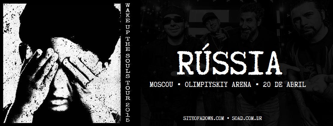 Show em Moscou, Rússia