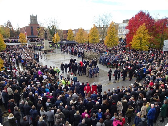 Remembrance Sunday service on Memorial Square (1)