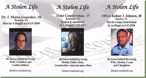 Stolen Lives Quilt TX Gonzalez-countryman-OffJohnson