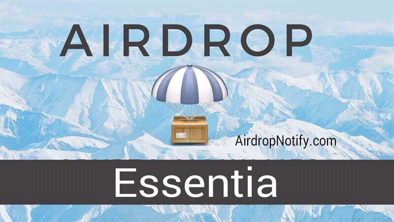 Essentia Crypto Airdrop Alert | Airdrop Cryptocurrency Join Now