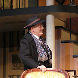 Richard Harte in THE ROYAL FAMILY (R) - December 2011.  Property of The Schenectady Civic Players Theater Archive.