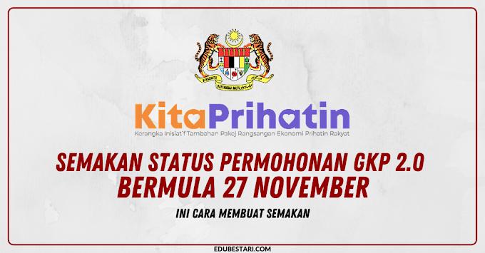 Tarikh Semakan GKP 2.0 Bermula 27 Nov, Bayaran 30 Nov Ini