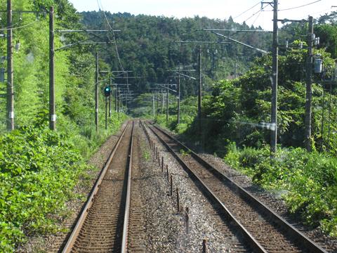 JR東日本 東北本線 701系1000番台電車 前面展望