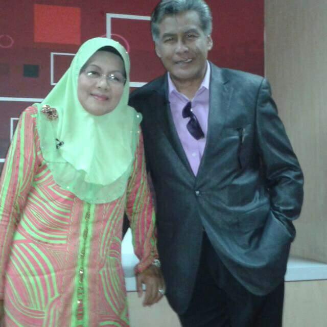 Takziah buat Datuk Jalaluddin Hassan. Isteri meninggal.