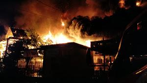 Kebakaran di Soppeng, Anak Ibu Tewas Terpanggang