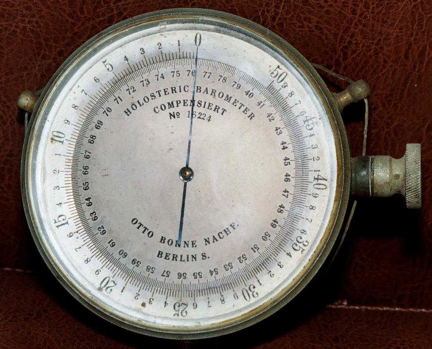 El 'anticiclonazo' puede batir registros históricos de presión atmosférica