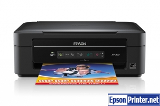 Download Epson XP-200 laser printer driver – add printer without installation compact disc