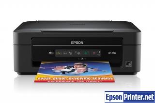 Download Epson XP-200 lazer printer driver