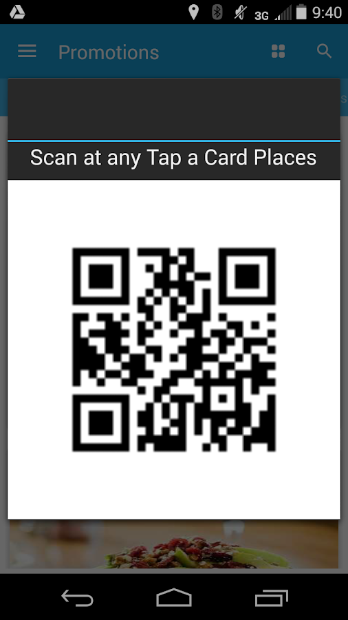 TAP A CARD- screenshot