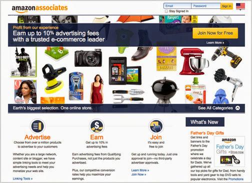 Amazon Associates Affiliate Marketing Programs