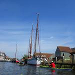 141-We varen terug over de Diepe Dolte en zetten koers naar de Nauwe Larts.